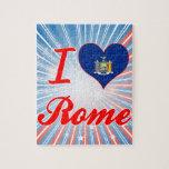 Amo Roma, Nueva York Puzzles Con Fotos