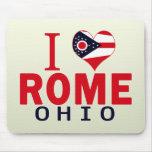 Amo Roma, Ohio Alfombrillas De Ratones