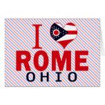 Amo Roma, Ohio Felicitación