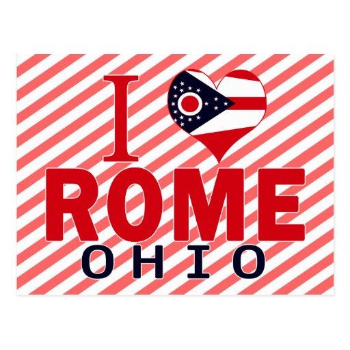 Amo Roma, Ohio Tarjetas Postales