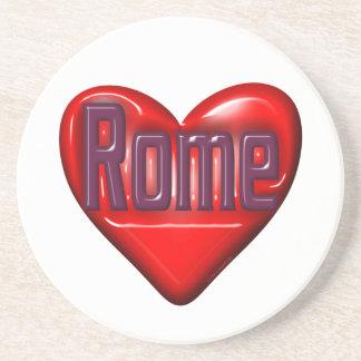 Amo Roma Posavasos Diseño