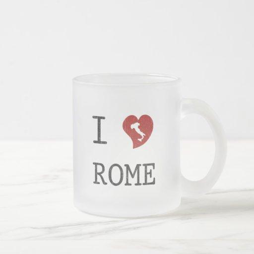 Amo Roma Taza