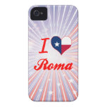 Amo Roma, Tejas Case-Mate iPhone 4 Cárcasa