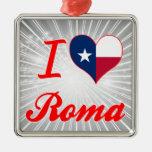 Amo Roma, Tejas Ornamente De Reyes