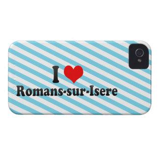 Amo Romans-sur-Isere Francia iPhone 4 Case-Mate Fundas