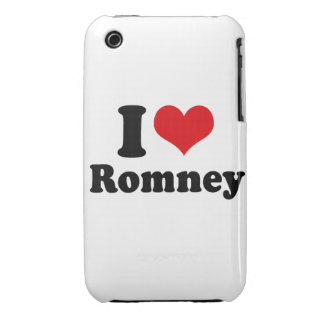 AMO ROMNEY iPhone 3 PROTECTORES