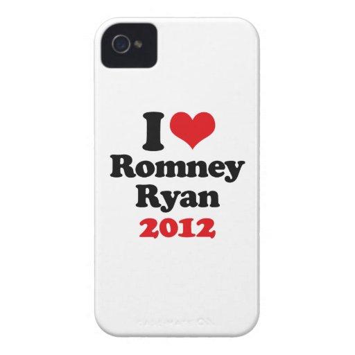 AMO ROMNEY RYAN 2012.png Case-Mate iPhone 4 Carcasa