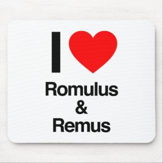 amo romulus y remus tapetes de ratones