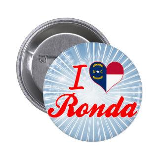 Amo Ronda, Carolina del Norte Pins