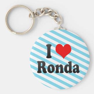 Amo Ronda, España Llaveros Personalizados