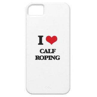 Amo Roping del becerro iPhone 5 Cárcasa