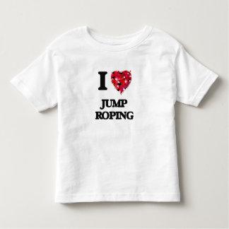 Amo Roping del salto Playeras