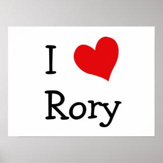 Amo Rory Póster