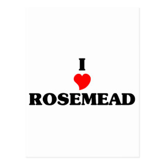Amo Rosemead Tarjetas Postales