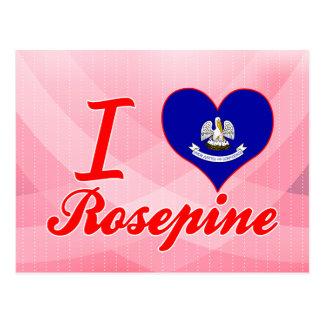 Amo Rosepine, Luisiana Tarjetas Postales