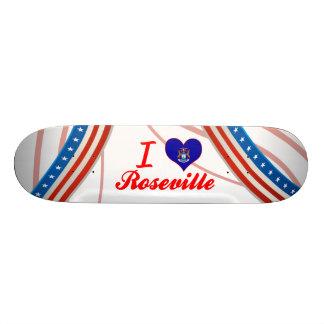 Amo Roseville, Michigan Tablas De Skate