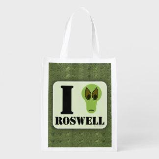 Amo Roswell Bolsas De La Compra