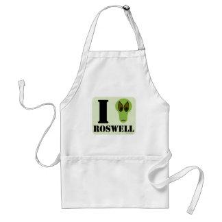 Amo Roswell Delantal