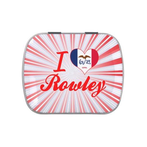 Amo Rowley, Iowa Jarrones De Caramelos