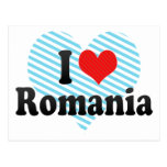 Amo Rumania Postales