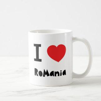 Amo Rumania Taza Clásica