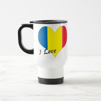 Amo Rumania Taza De Viaje