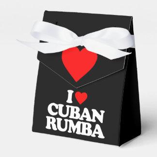 AMO RUMBA CUBANA CAJAS PARA DETALLES DE BODA