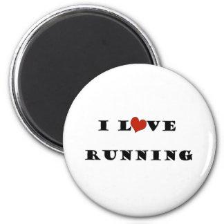 Amo Running png Imán
