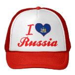 Amo Rusia, Nueva York Gorras De Camionero