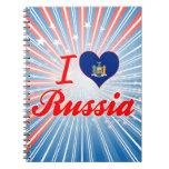Amo Rusia, Nueva York Libros De Apuntes