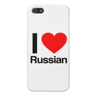 amo ruso iPhone 5 funda
