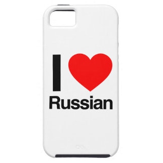 amo ruso iPhone 5 fundas