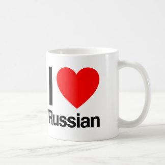 amo ruso taza clásica
