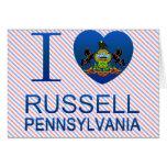 Amo Russell, PA Tarjetón