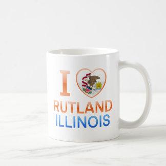 Amo Rutland, IL Taza De Café