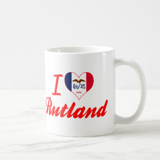 Amo Rutland, Iowa Taza De Café