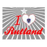 Amo Rutland, Massachusetts Tarjetas Postales