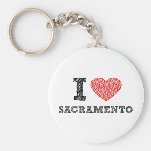 Amo Sacramento Llavero Redondo Tipo Pin