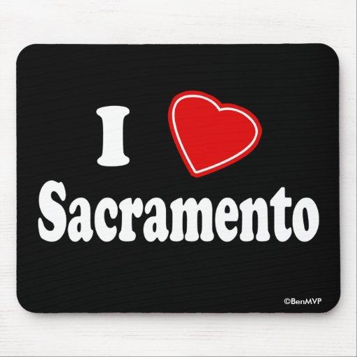 Amo Sacramento Tapete De Ratón