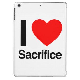 amo sacrificio funda para iPad air