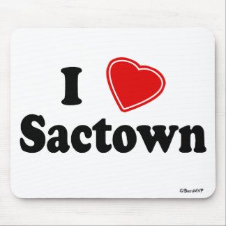 Amo Sactown Alfombrilla De Ratones