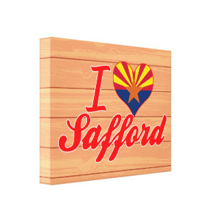 Amo Safford, Arizona Lienzo Envuelto Para Galerias