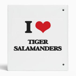 Amo Salamanders de tigre