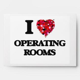 Amo salas de operaciones sobres