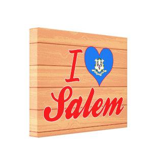 Amo Salem, Connecticut Impresiones En Lienzo Estiradas