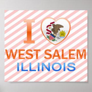 Amo Salem del oeste IL Posters