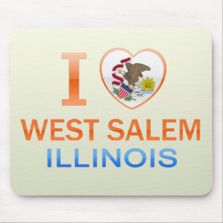Amo Salem del oeste IL Alfombrillas De Raton