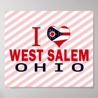 Amo Salem del oeste Ohio Poster