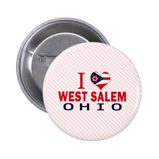 Amo Salem del oeste Ohio Pins