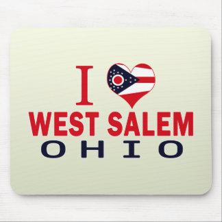 Amo Salem del oeste Ohio Tapetes De Raton